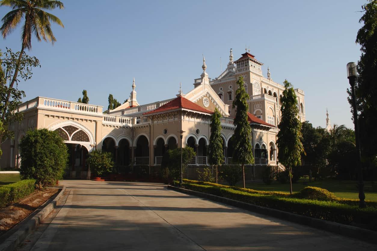 Aga Khan palace in Pune, India