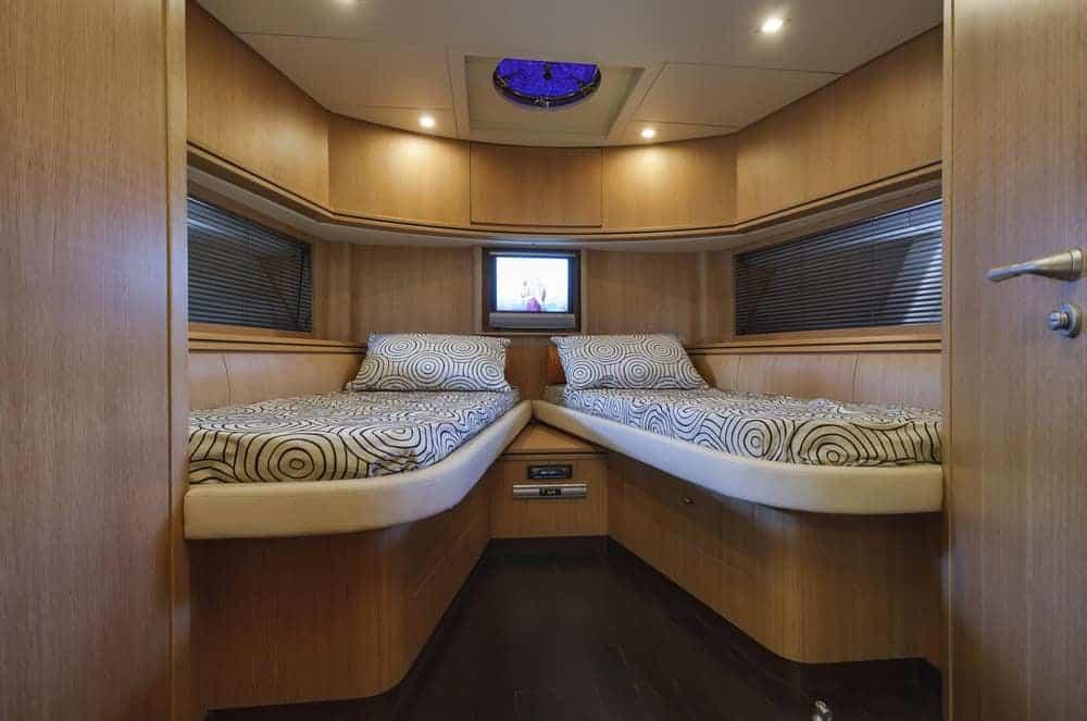 Alfamarine 72 luxury yacht - 2 beds