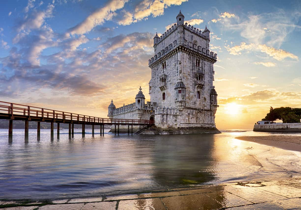 Belem Tower - Tagus River, Portugal