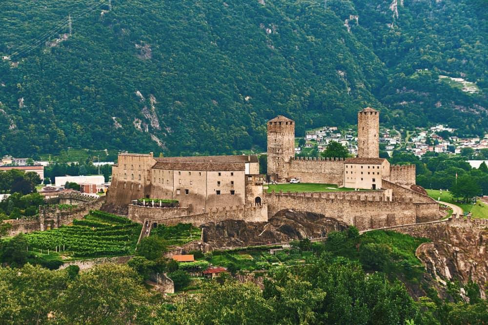 Castelgrande castle