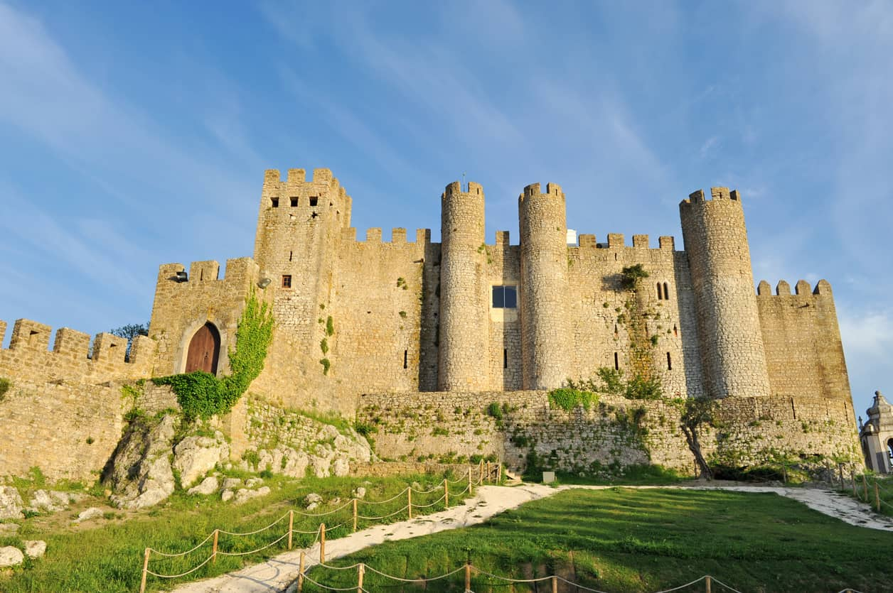 Castle of Óbidos,Portugal