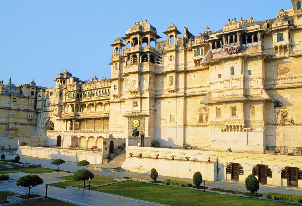 City Palace in Udaipur, Rajasthan, India