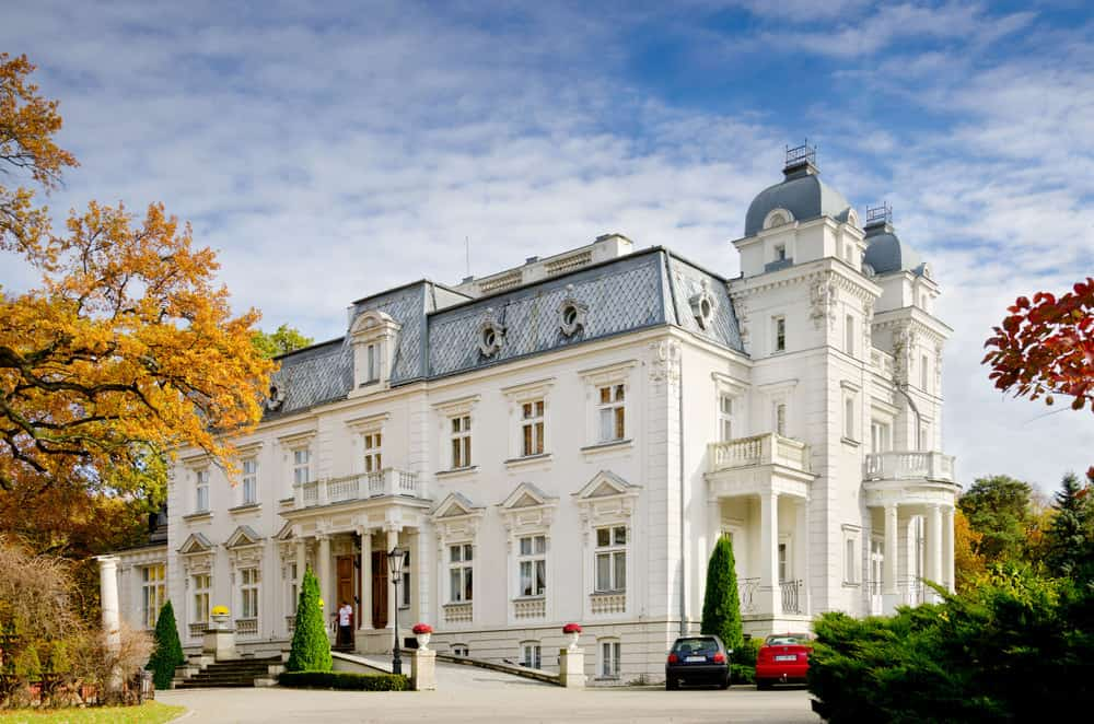 Epstein's palace in Teresin