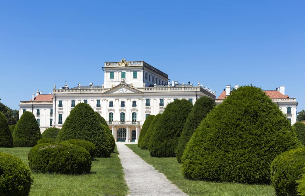 Eszterhazy Castle in Fertod