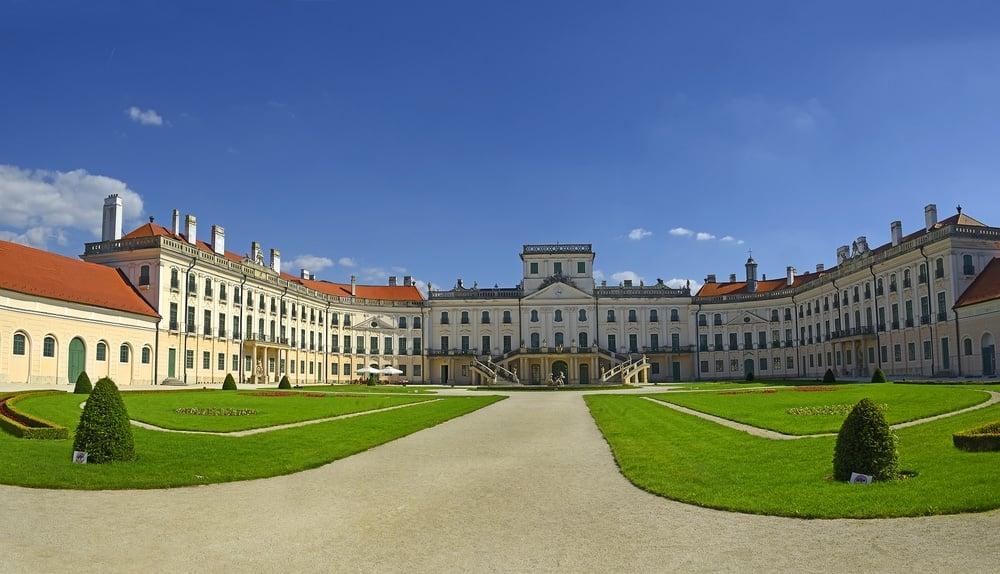 Eszterhazy Castle in Fertod