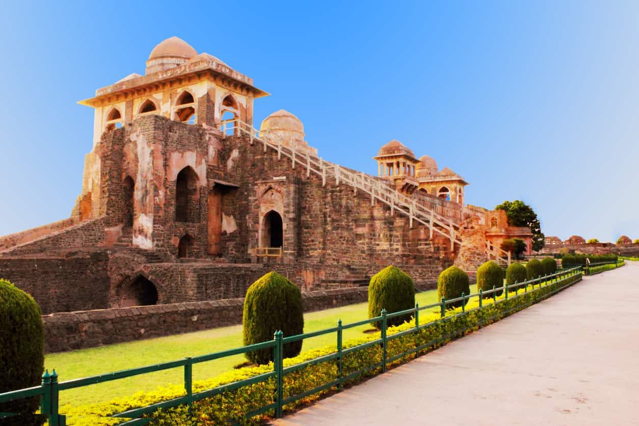 Jahaz Mahal (called Ship Palace in english) in Mandu