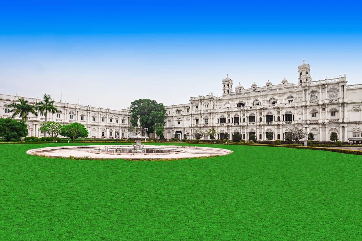 Jai Vilas Palace in Gwalior, Madyha Pradesh, India