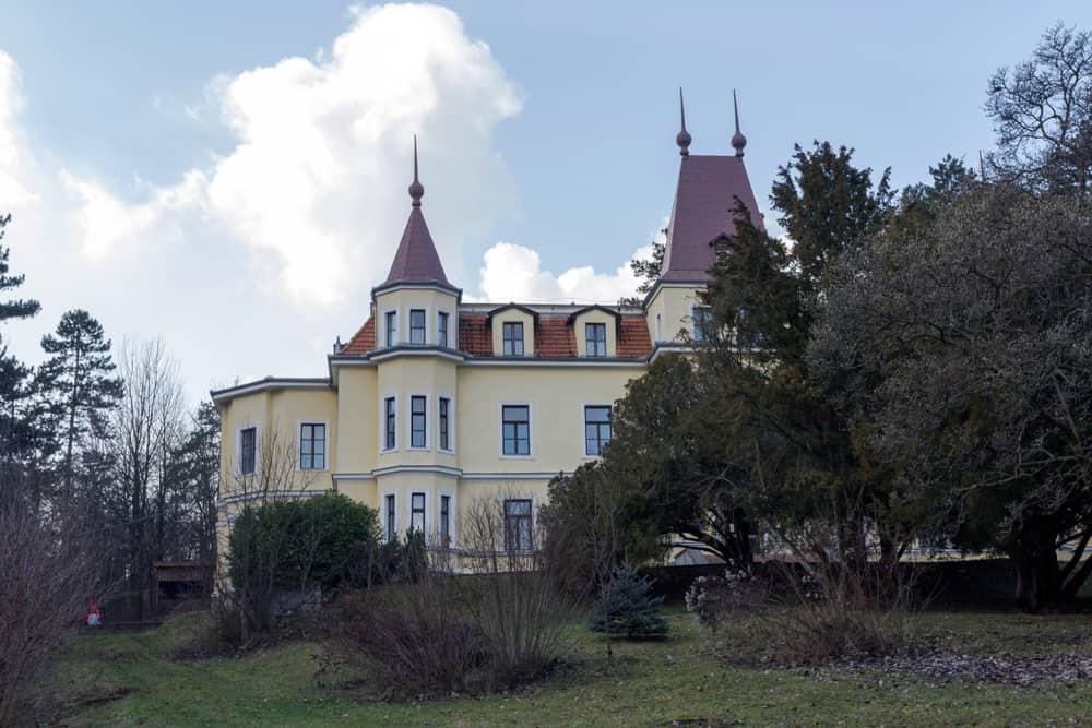 Margitligeti-kastely in Csobanka