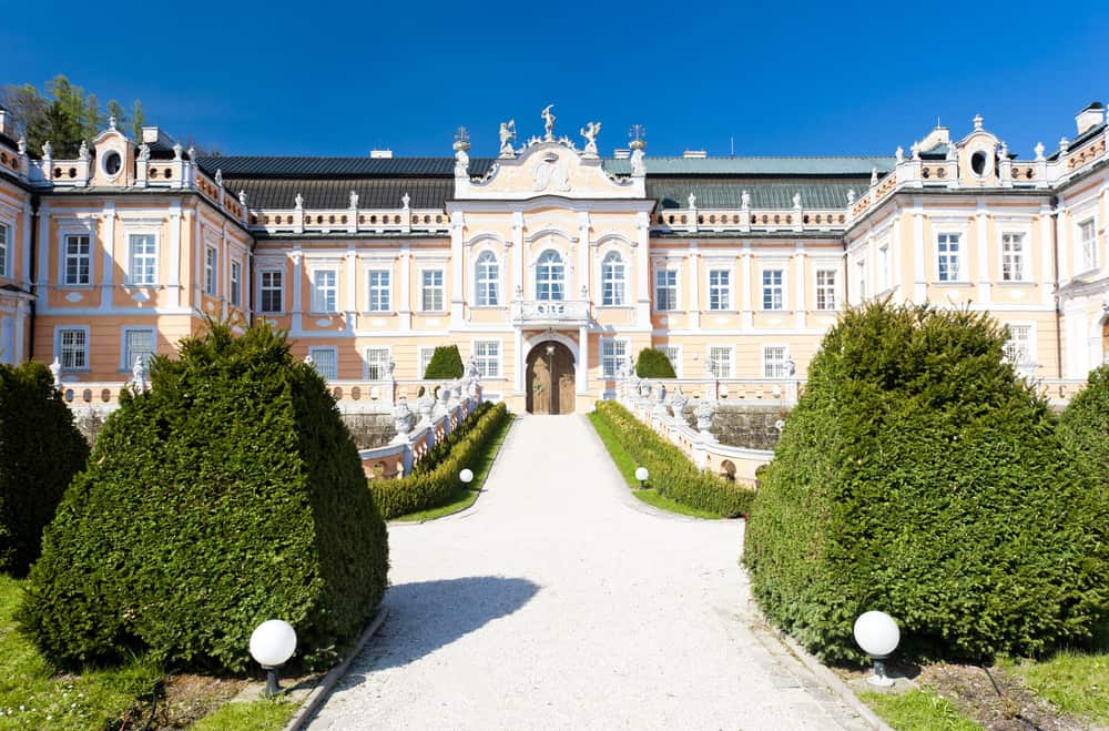 Nove Hrady Palace