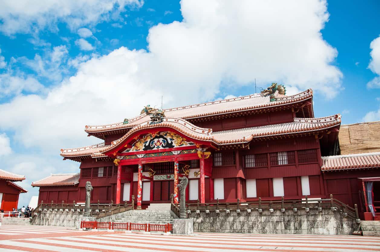 Okinawa Castle or Shuri Castle