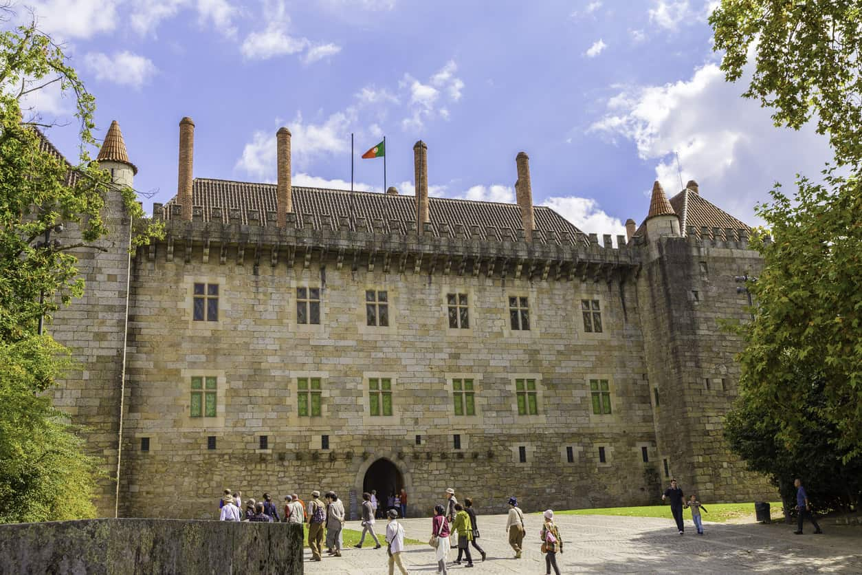 Palace of the Dukes of Braganza built in 1420