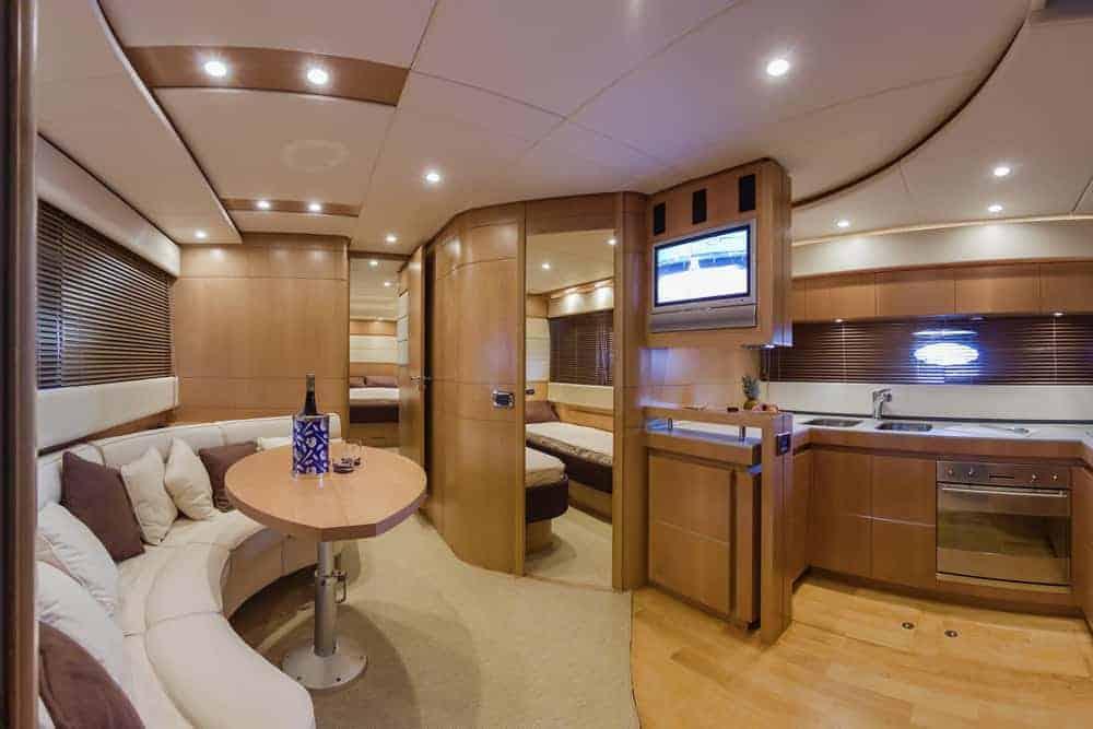 RIZZARDI 63HT luxury yacht galley