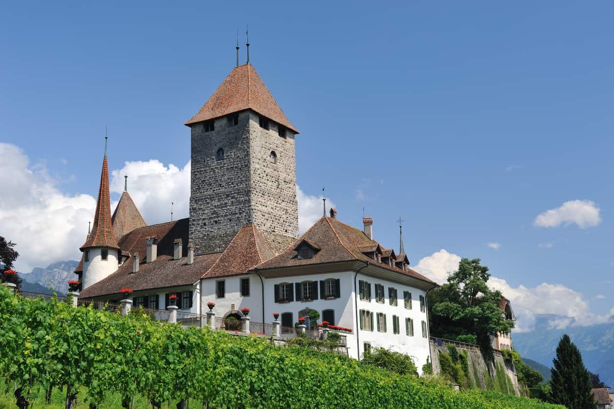 The Château de Spiez (Schloss Spiez)