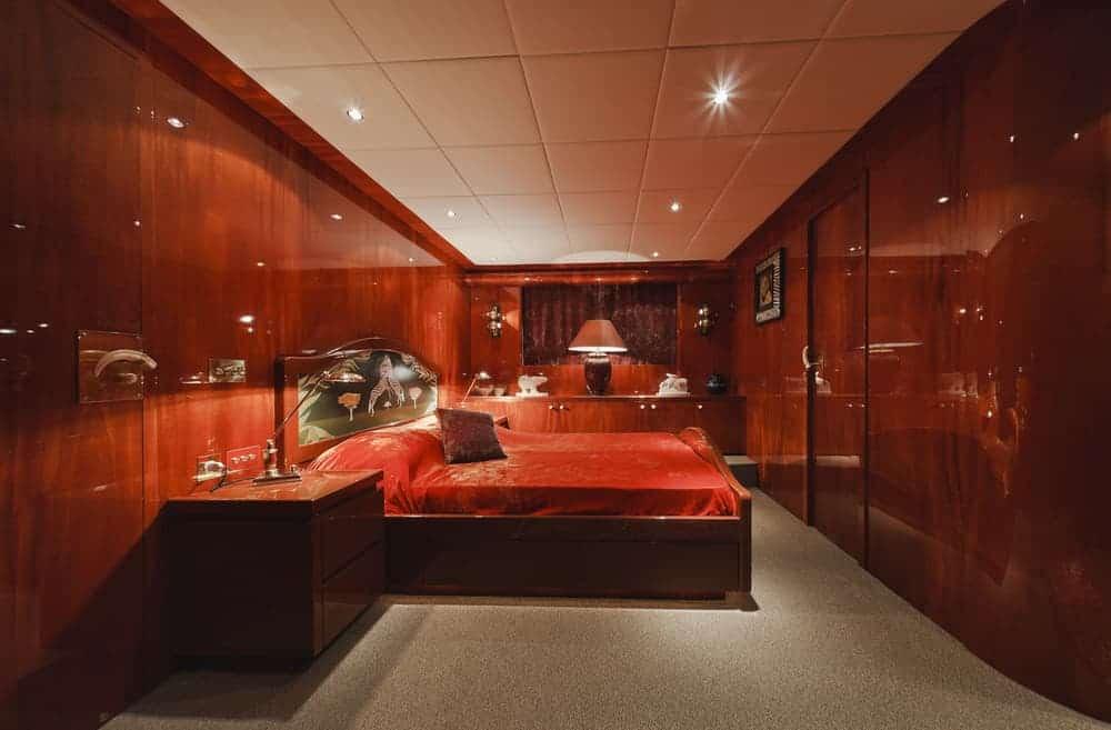 Tecnomar 35 Open luxury yacht - bedroom