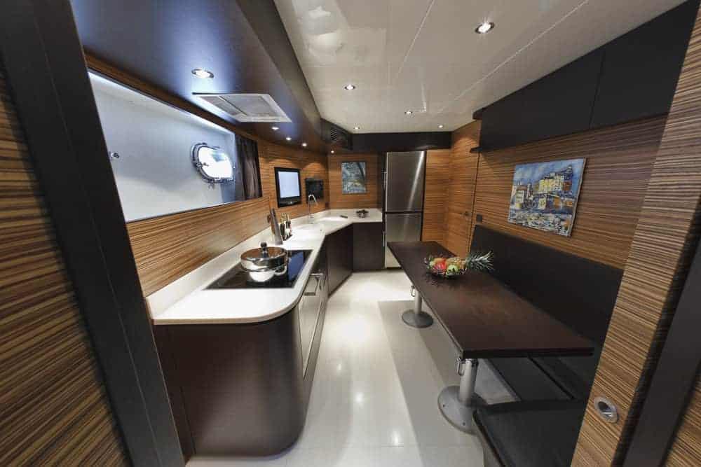 Tecnomar Velvet 100 luxury kitchen