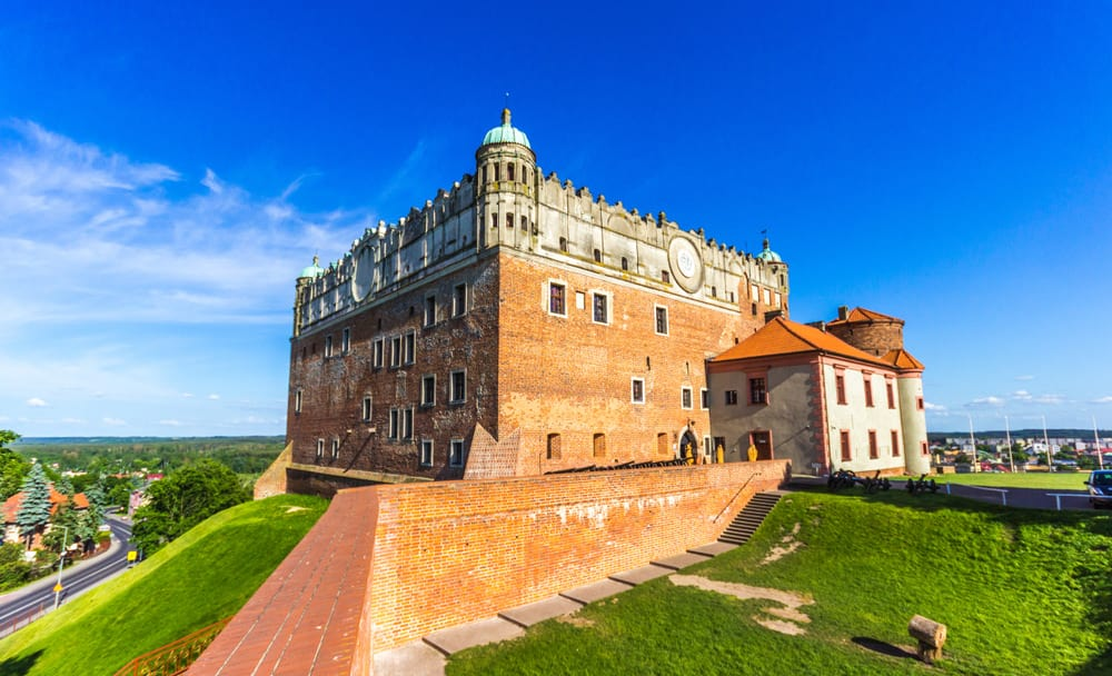 Teutonic castle in Golub-Dobrzyn