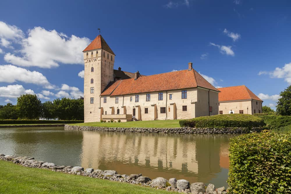 Tosterup medieval castle