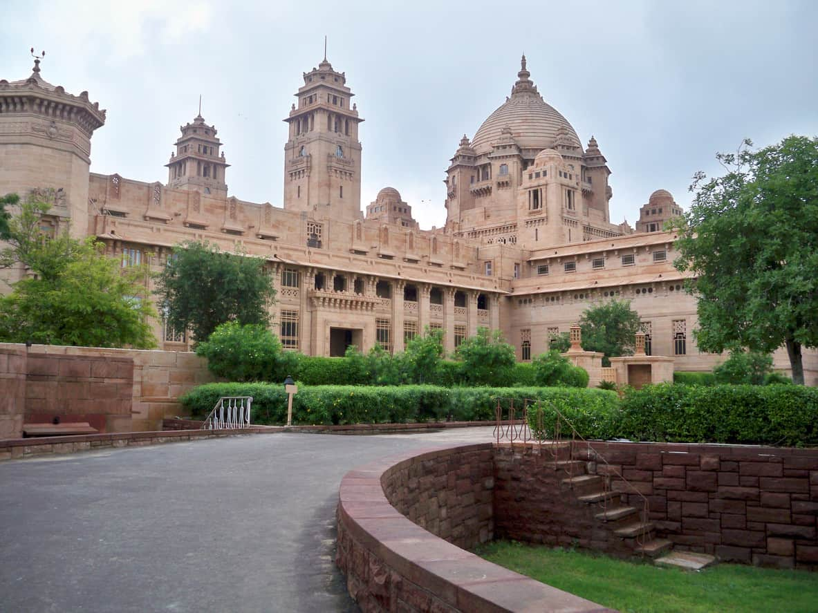 Umaid Bhawan Palace compound