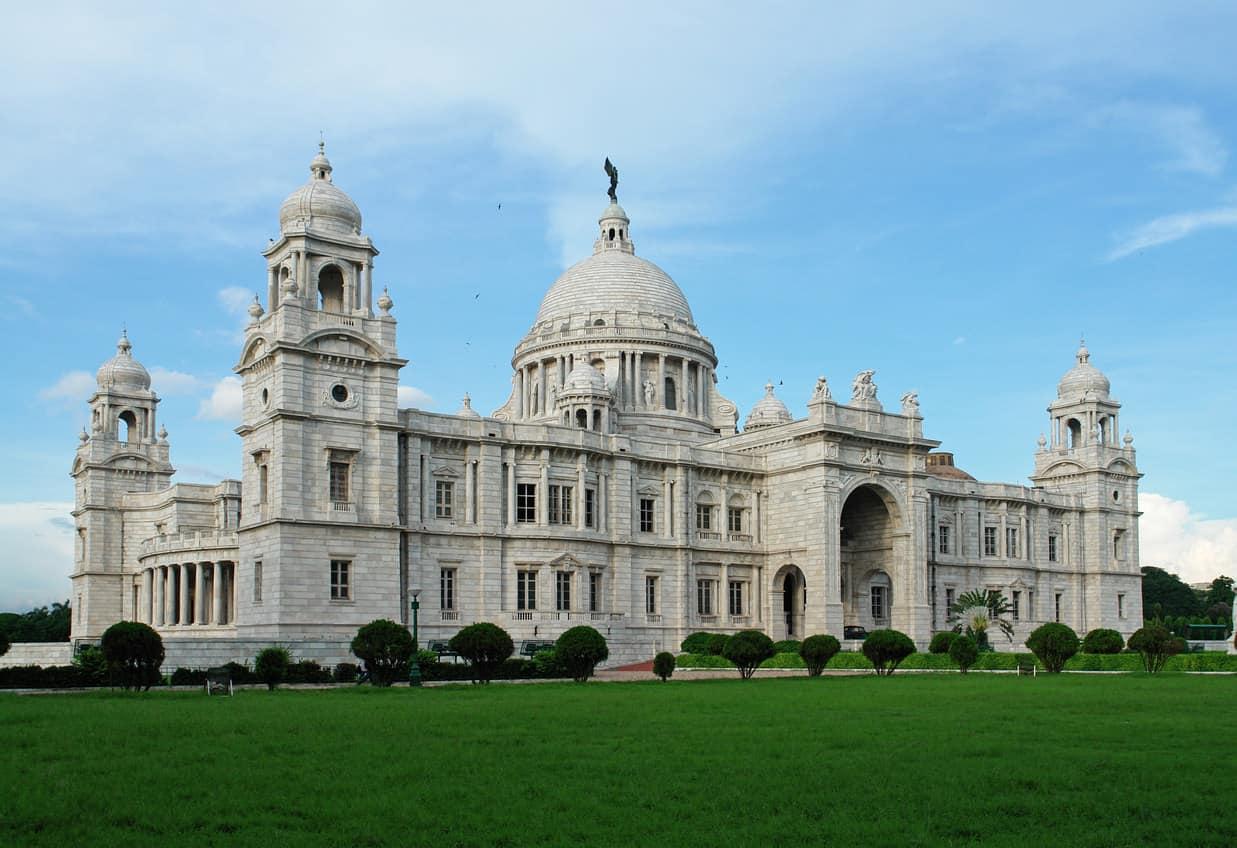 Victoria Memorial landmark in Calcutta