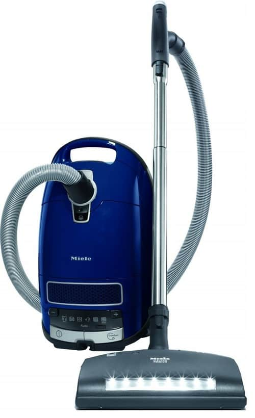 Adjustable height vacuum cleaner.
