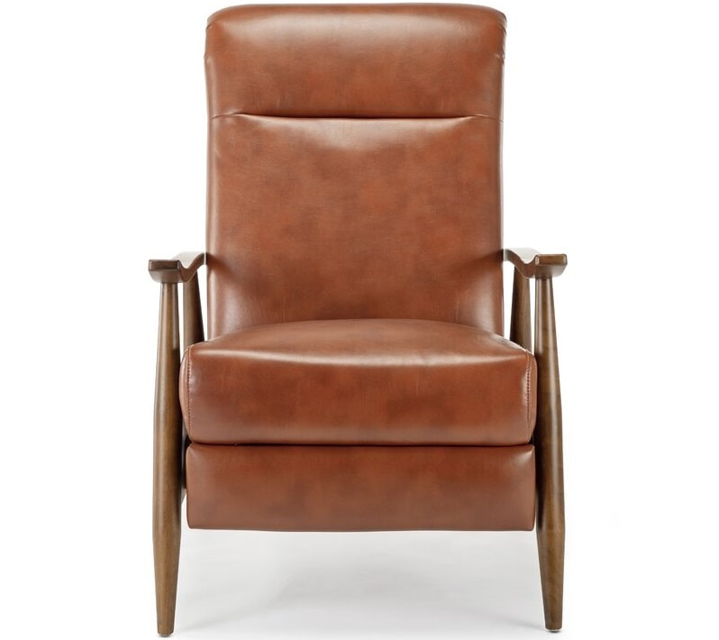 The Teasley Faux Leather Manual Recliner from AllModern.