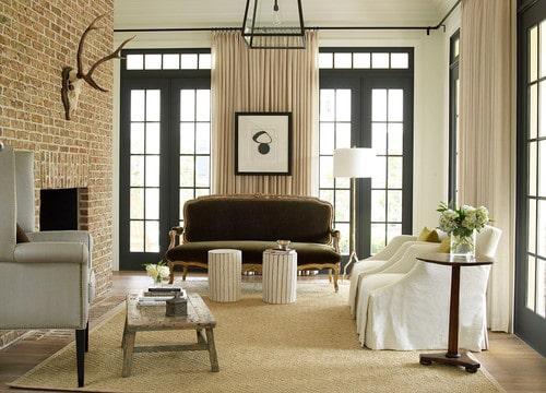 Light brown living room.