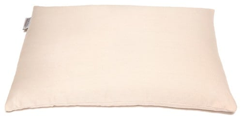 Buckwheat pillow.