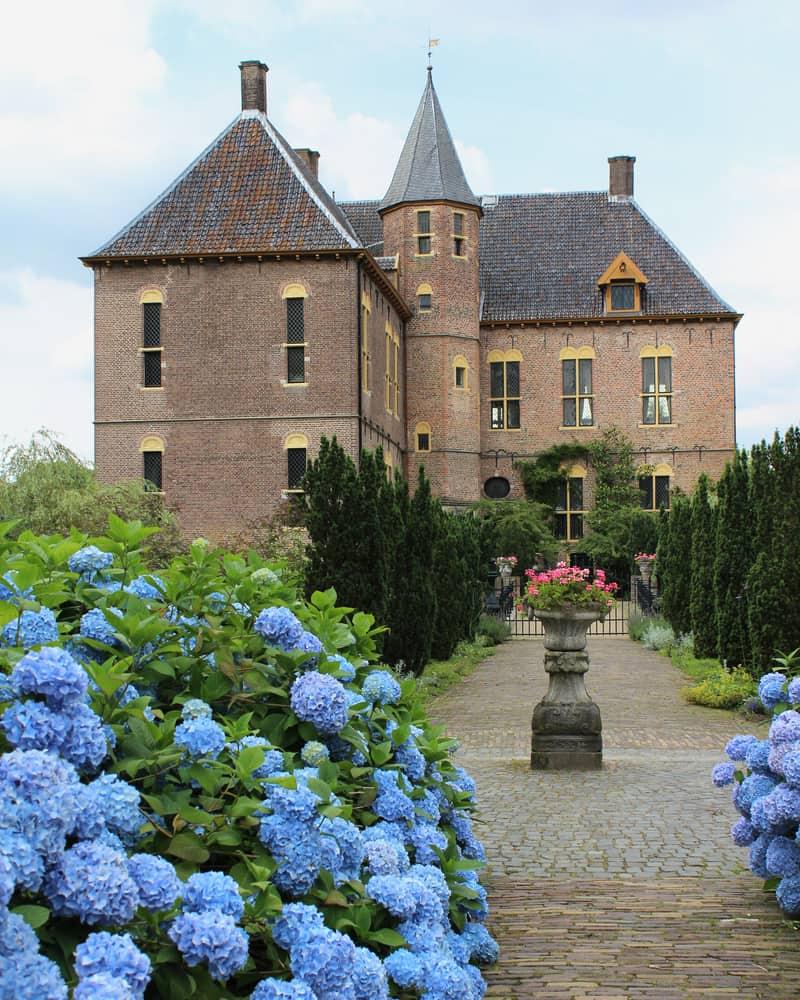 Castle in Vorden in Gelderland