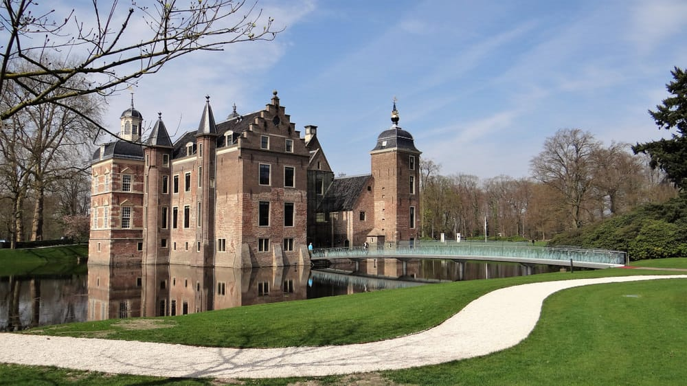 Castle in a dutch village in the Achterhoek