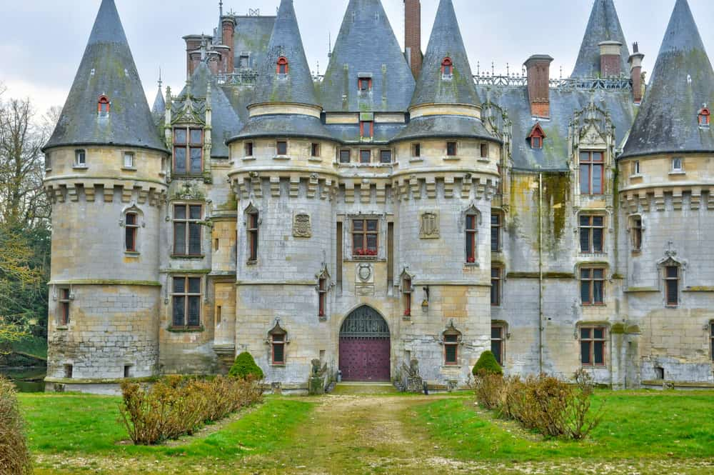 Castle of Vigny in Val d Oise
