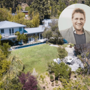 Curtis Stone's Hollywood Hills home for $16,500 a month.