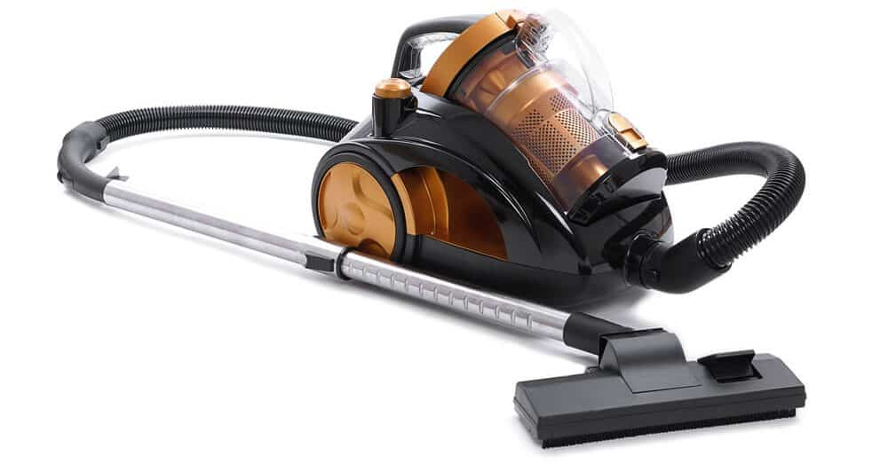 The famous cyclonic vacuum invented by Dyson.