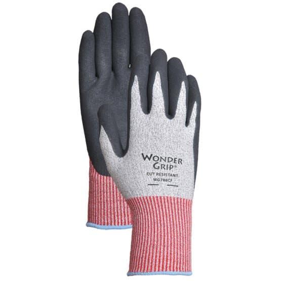 Garden gloves with an extra grip capability.