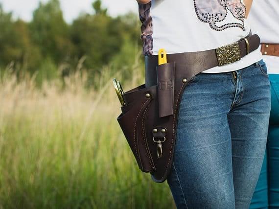 Hip tool belt