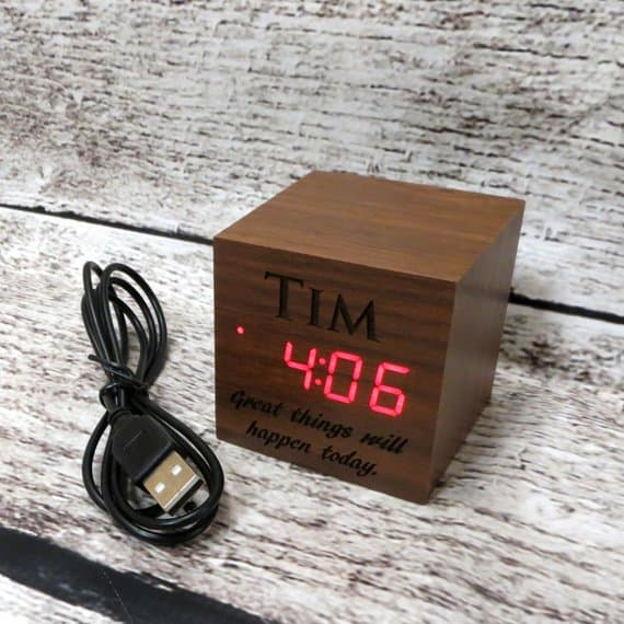 Personalized alarm clock