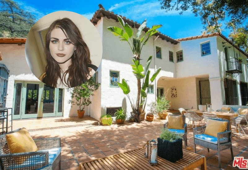 Frances Bean Cobain lists her Hollywood home for $2.695 million.