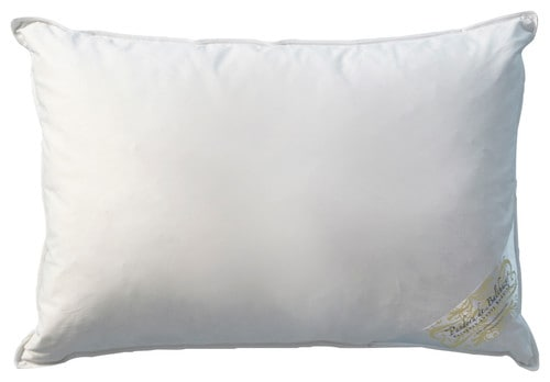 Goose down pillow.