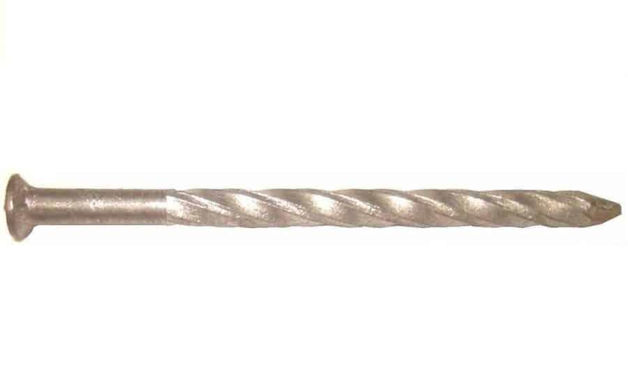Hardboard nail.