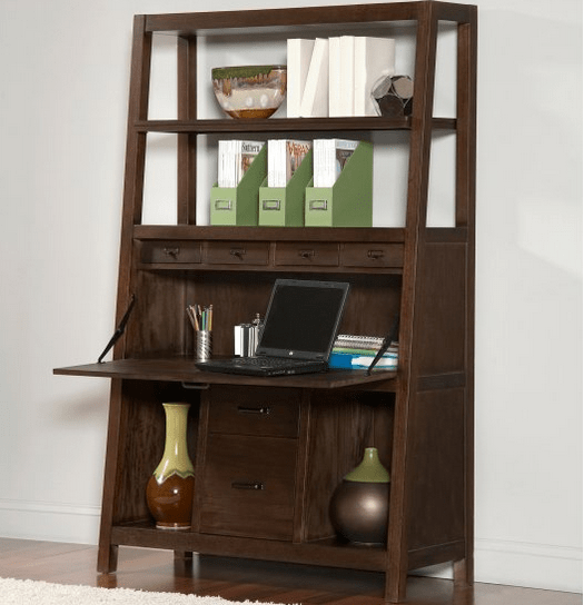 Computer armoire for office storage