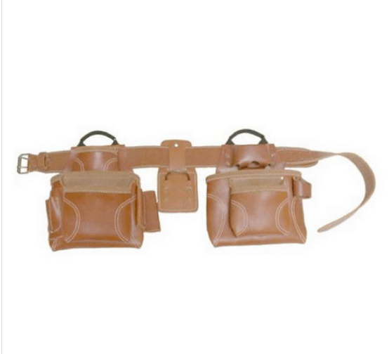 Tool belt made out of leather