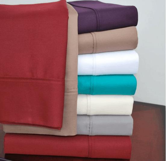 Split king bed sheet