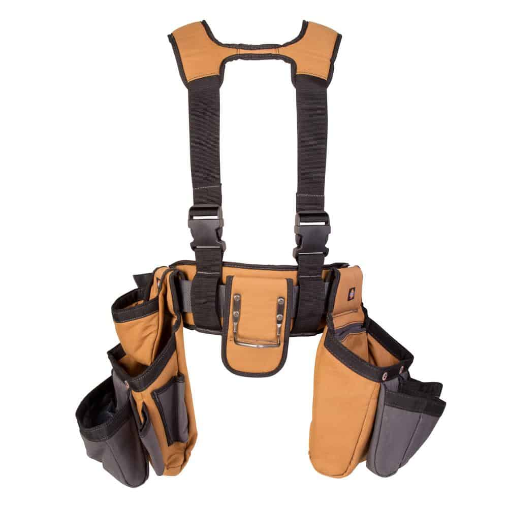 Tool belt made out of canvas