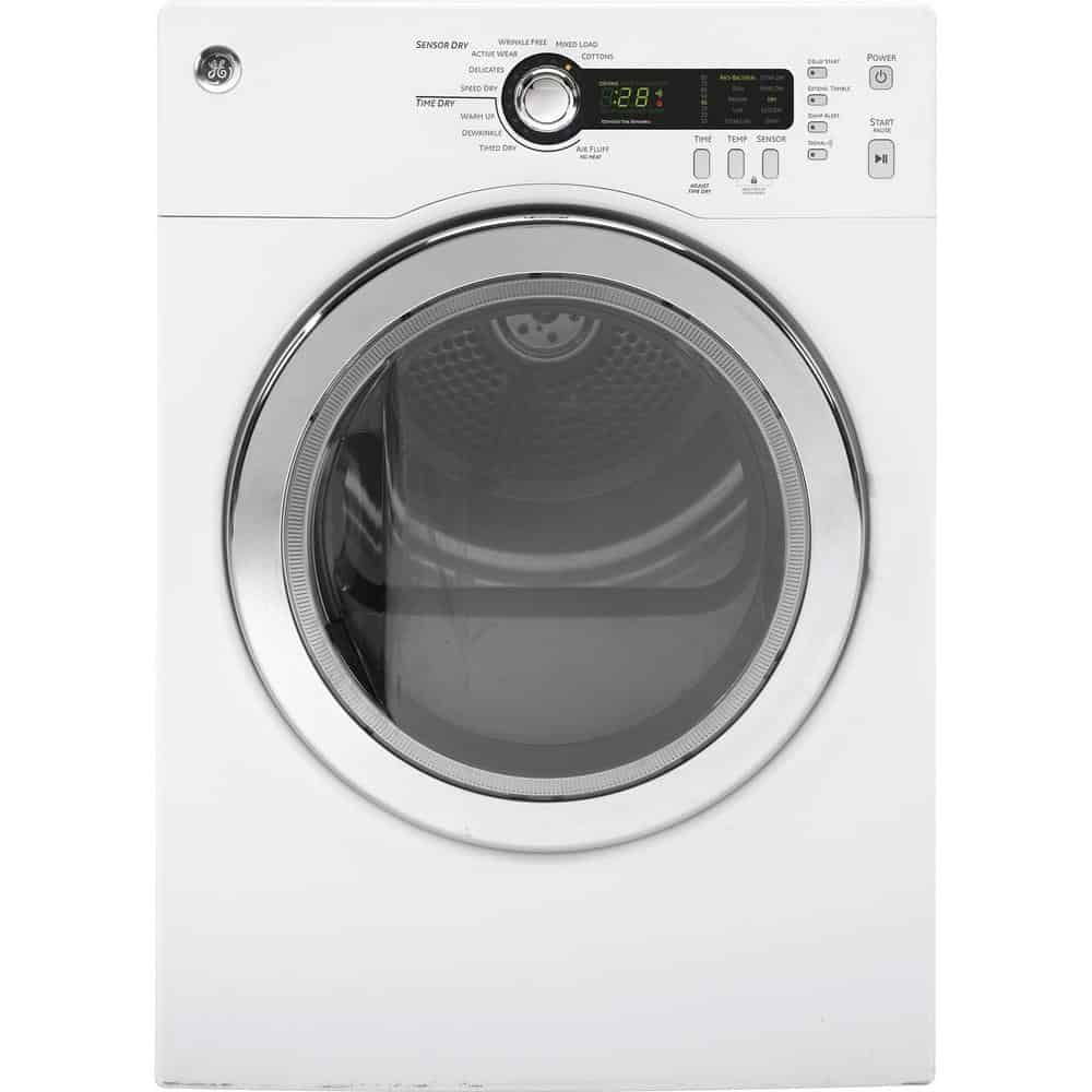 Clothes dryer with stainless steel drum