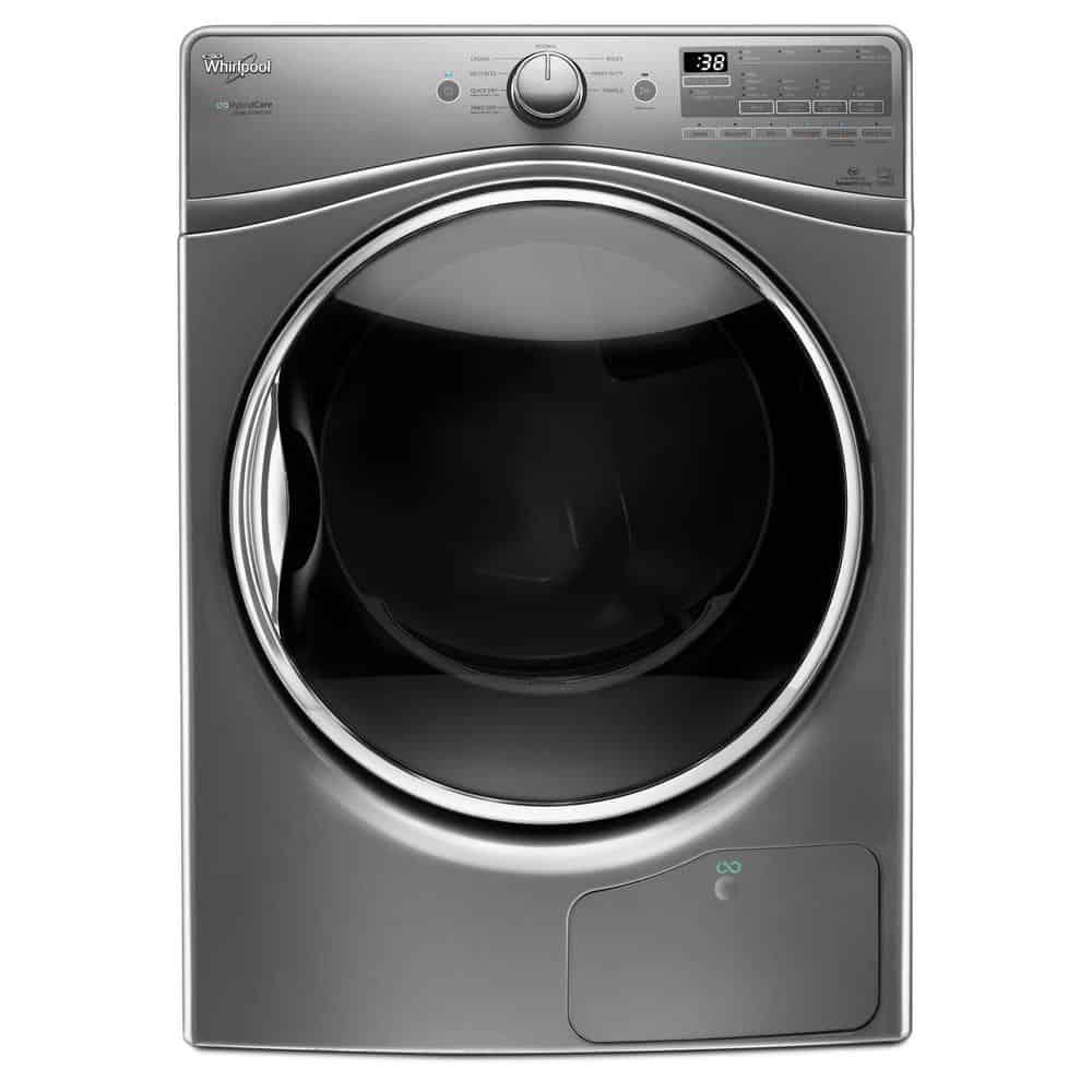 Heat pump condenser clothes dryer