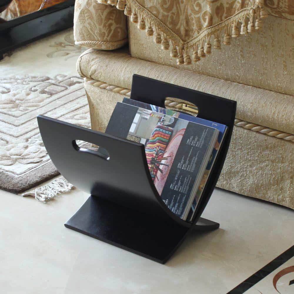 Magazine rack for office storage