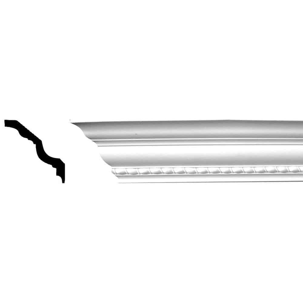 One-piece crown molding