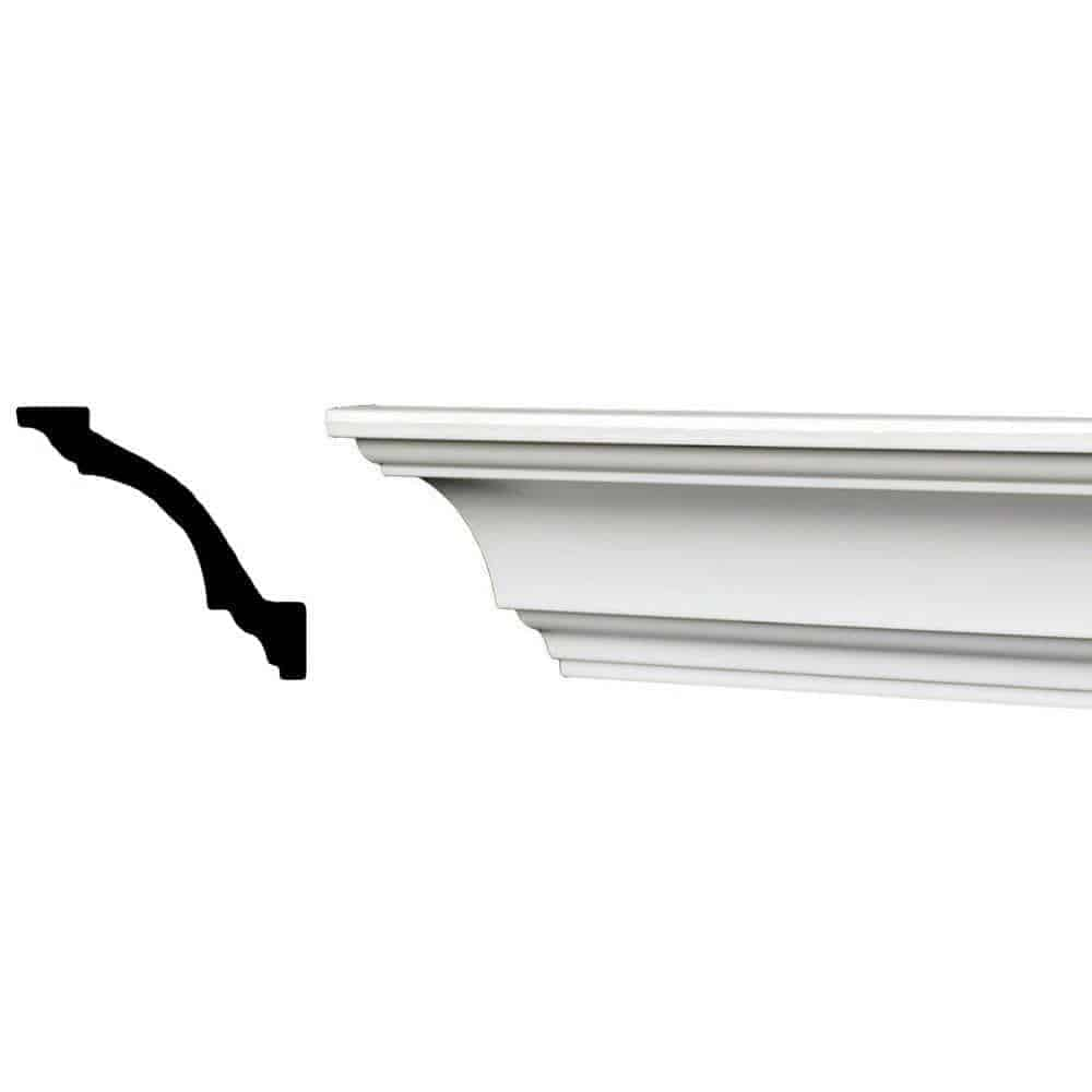 Recycled crown molding