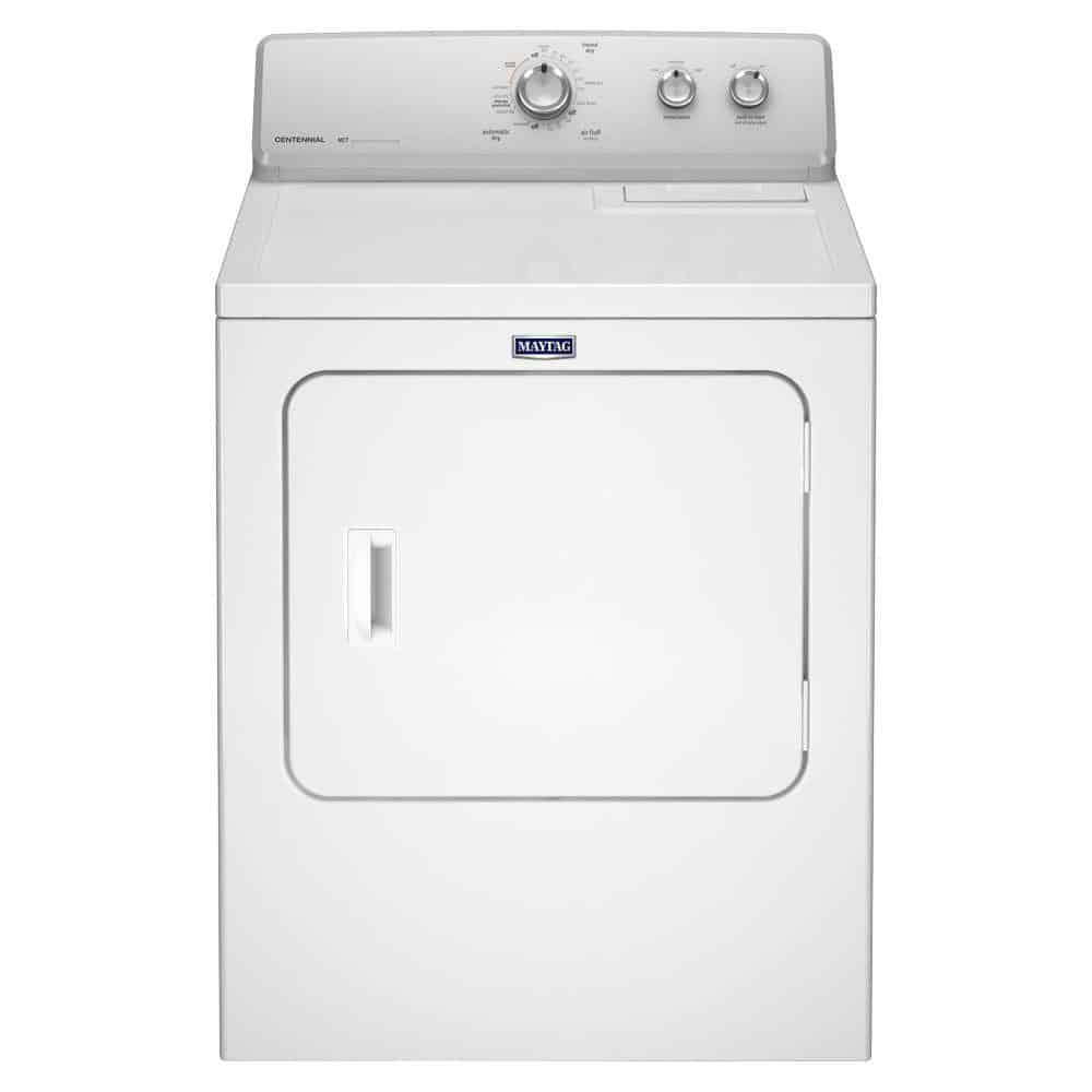 Clothes dryer with reversible swing
