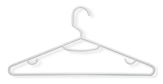 Tubular clothes hanger