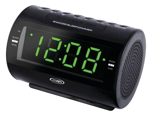 Alarm clock with multiple alarms